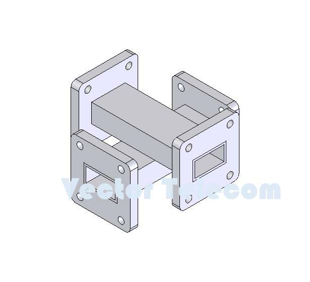 WR75 Crossguide Directional Coupler