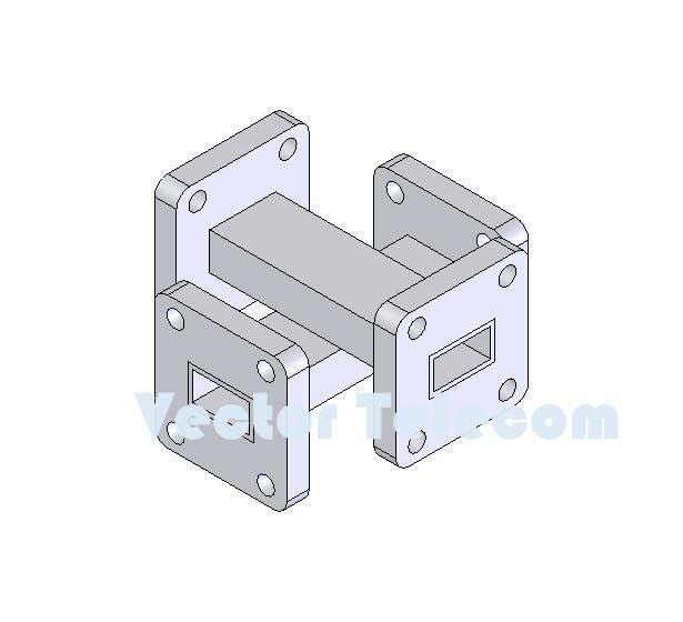 WR51 Crossguide Directional Coupler