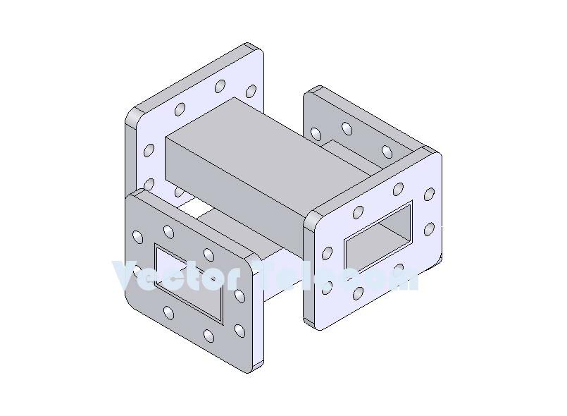 WR159 Crossguide Directional Coupler