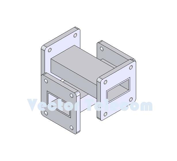 WR112 Crossguide Directional Coupler