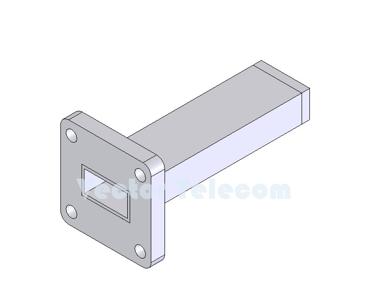 WR62 Waveguide Low Power Termination