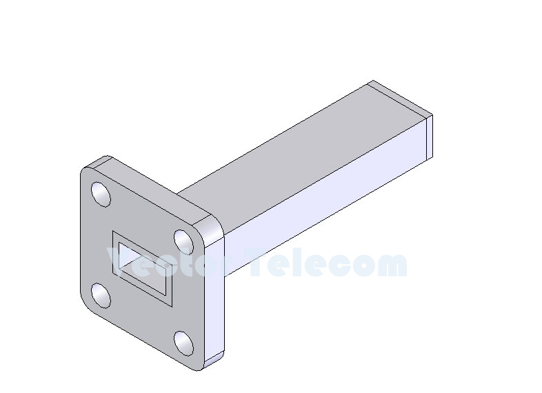 WR28 Waveguide Low Power Termination