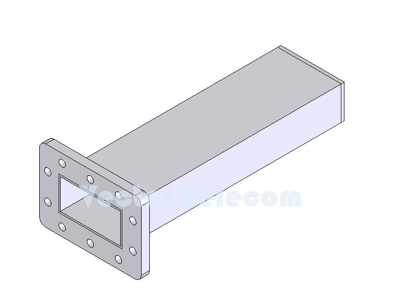 WR229 Waveguide Low Power Termination