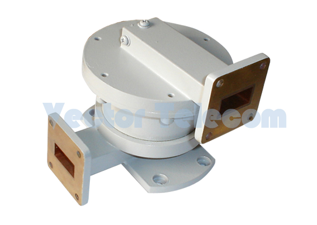 WR62 Waveguide Single CSGAHnnel Rotary Joint