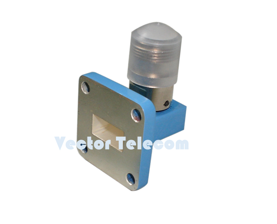 WR90 Waveguide to Coaxial Adapter