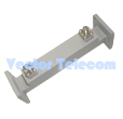 Broadwall Directional Coupler - 2 WG Ports & 2 Coax Ports