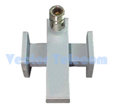 Crossguide Directional Coupler - 2 WG Ports & 1 Coax Port
